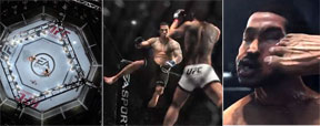 V�DEO: EA Sports revela imagens do game oficial do UFC para Xbox One (Reprodu��o/EA Sports)