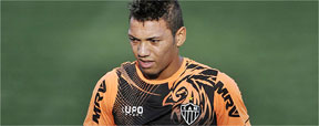 Lateral Alex troca prefer�ncia por oportunidade no time do Atl�tico (Juarez Rodrigues/EM/D.A Press)