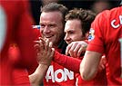 Fora, Manchester United vence o West Bromwich (AFP PHOTO / PAUL ELLIS )