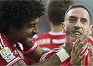 Bayern massacra o Wolfsburg no torneio Alem�o (AFP PHOTO / ODD ANDERSEN )